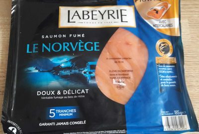 Saumon fumé Le Norvège - Produit - fr