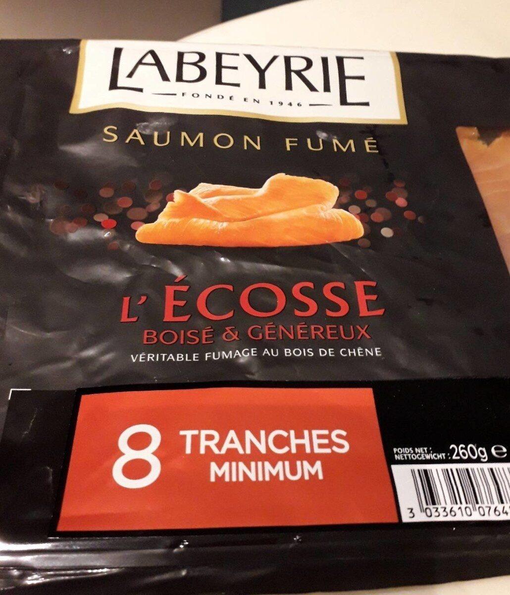 Saumon fumé l'ecosse boisé et généreux - Product - fr