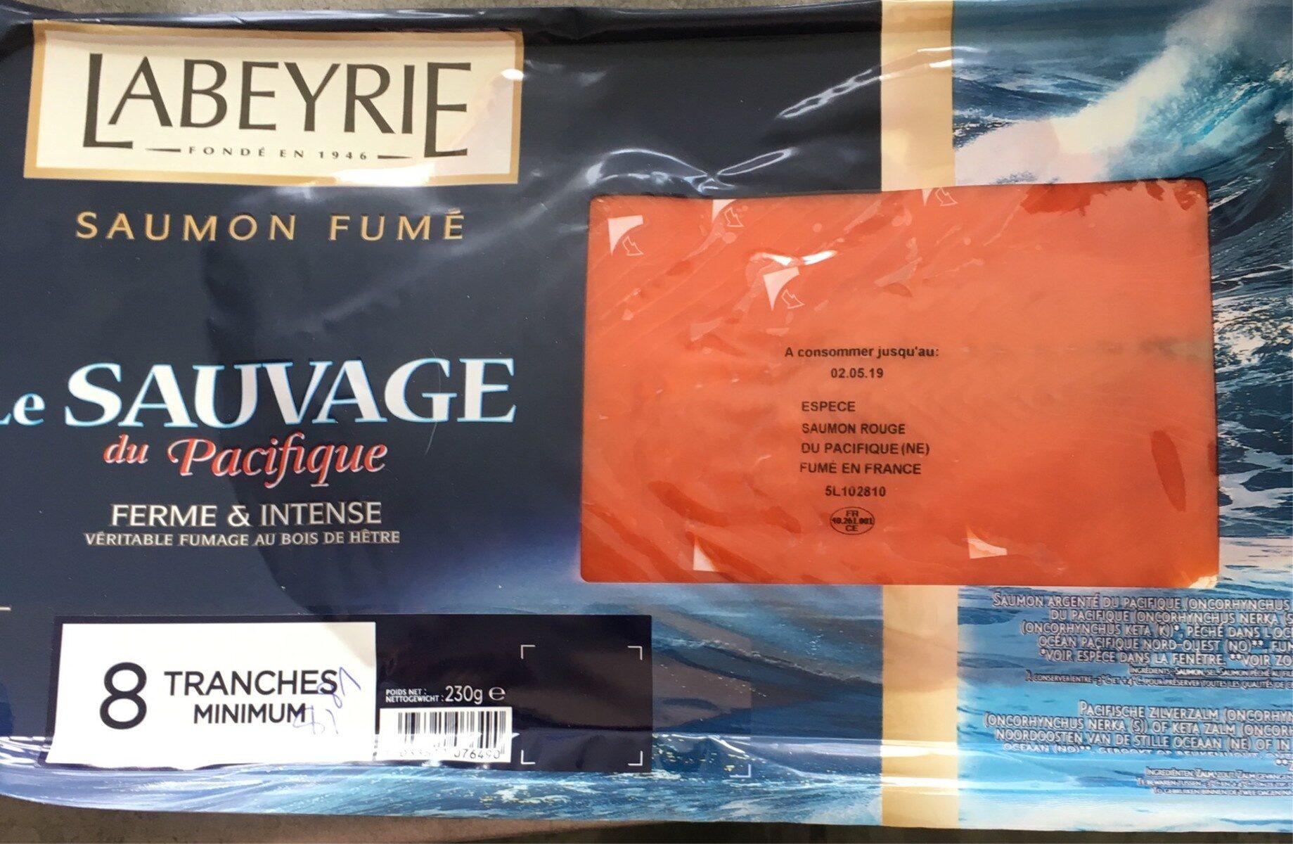 Saumon fume sauvage du Pacifique - Produit - fr