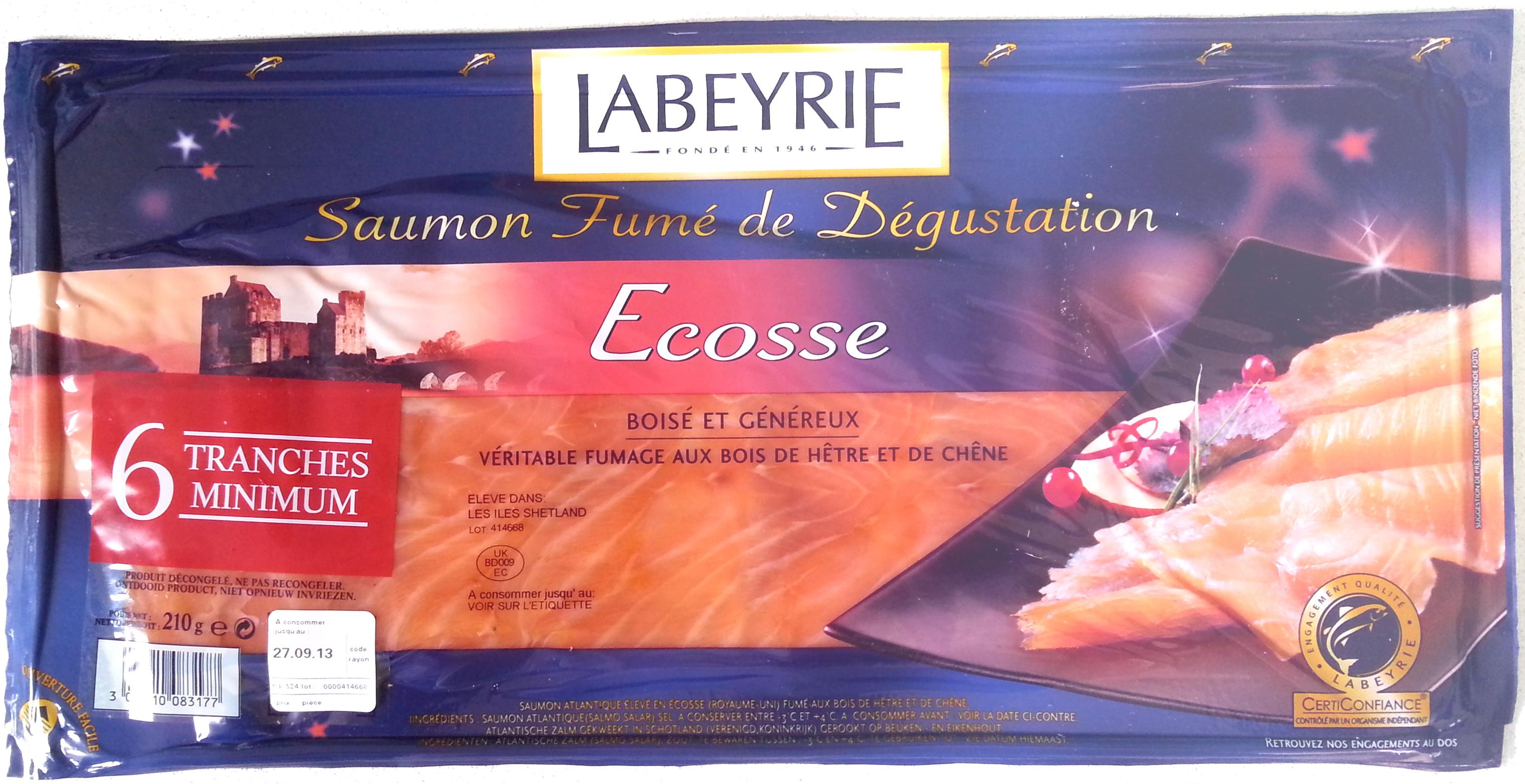 Saumon fumé de dégustation - Ecosse, boisé et généreux - Produit - fr
