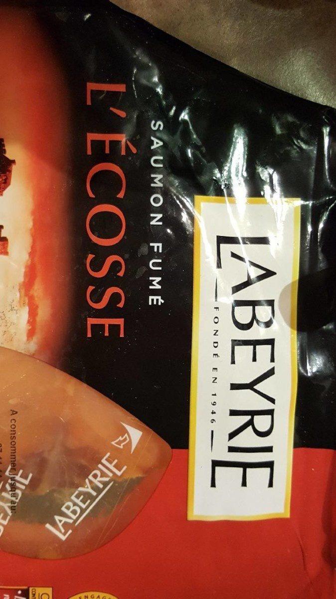 Saumon fumé d'ecosse - Produit - fr