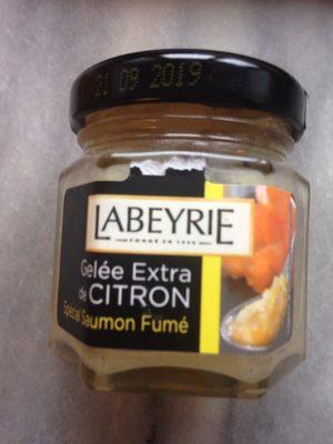 Gelee extra de citron (special saumon fume) - Produit - fr