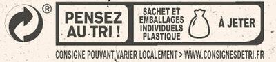 NESTLE L'ATELIER Carrés Dégustation Noir Intense 70% - Istruzioni per il riciclaggio e/o informazioni sull'imballaggio - fr