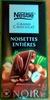 Nestlé Grand Chocolat Noir Noisettes entières - Produit