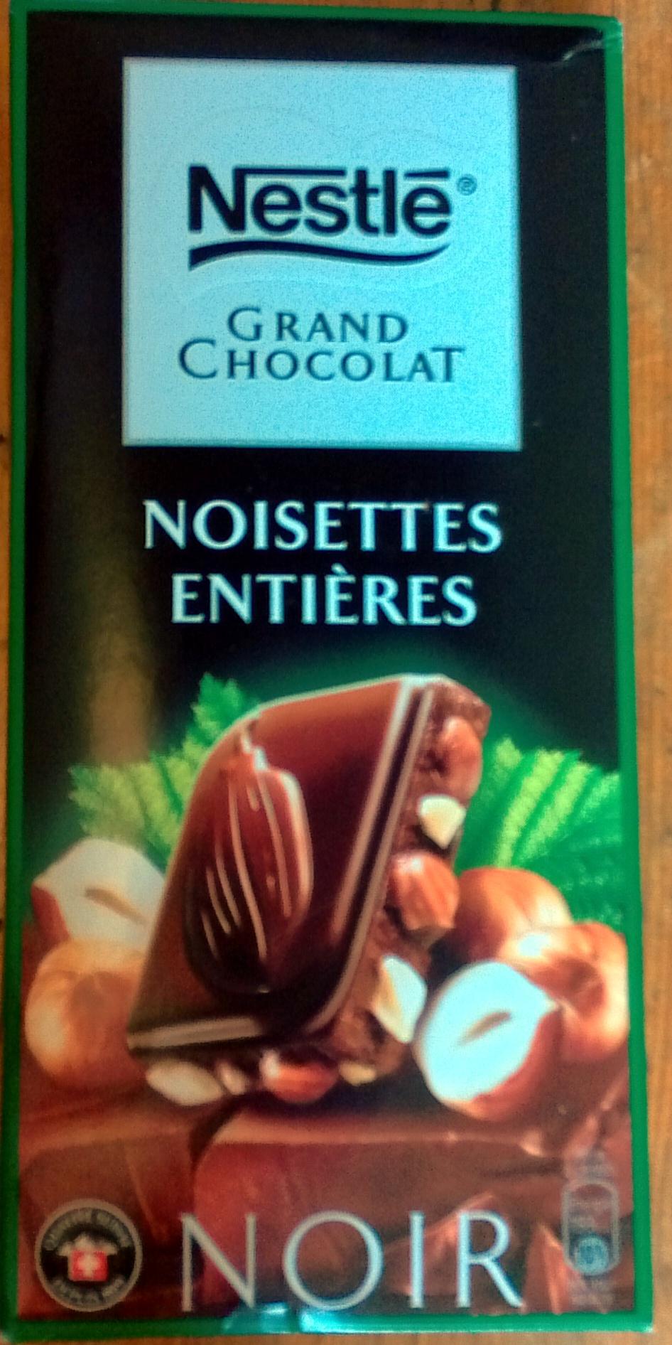 Grand Chocolat Noir Noisettes entières - Prodotto - fr