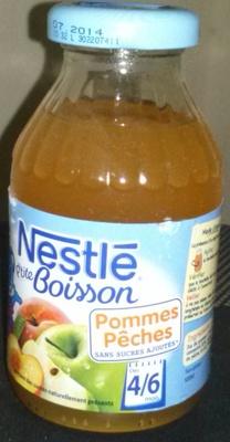 P'tite Boisson pomme peche 4/6 mois - Product - fr