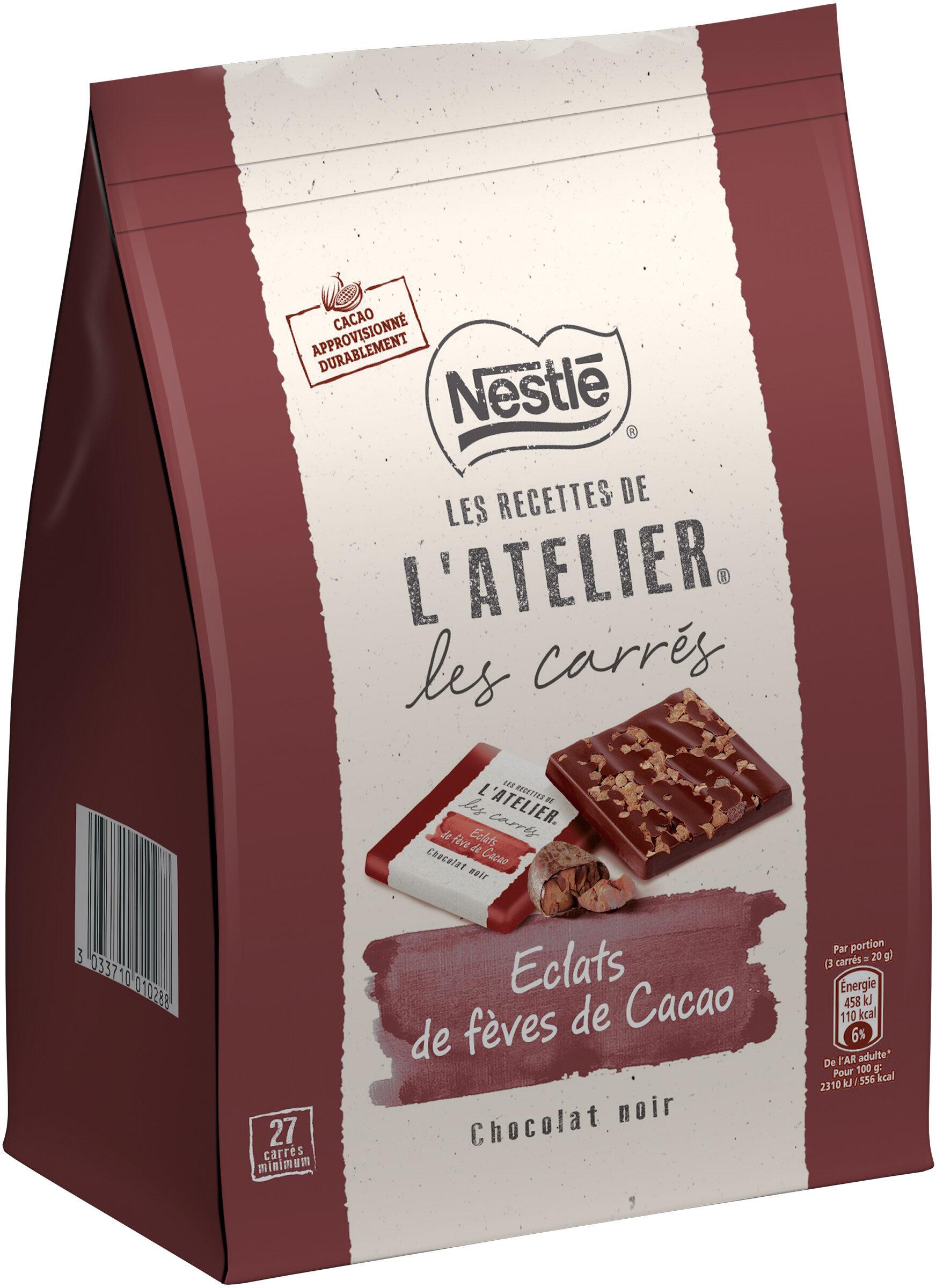 NESTLE L'ATELIER Carrés Dégustation Eclat Noir - Product - fr