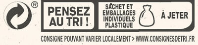 NESTLE L'ATELIER Carrés Dégustation Eclat Noir - Recycling instructions and/or packaging information - fr