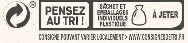 NESTLE L'ATELIER Carrés Dégustation Eclat Noir - Istruzioni per il riciclaggio e/o informazioni sull'imballaggio - fr