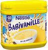 NESTLE BABIVANILLE (Céréales Infantiles) - Boîte 400g - Dès 10 mois - Produit
