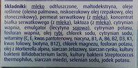 - Ingredients - pl