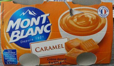 Creme Caramel Mont Blanc - Produit
