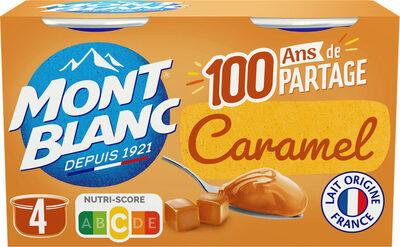 MONT BLANC Crème Dessert Caramel 4x125g - Prodotto