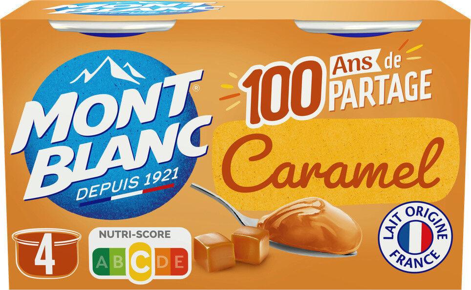 MONT BLANC Crème Dessert Caramel 4x125g - Produit - fr