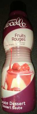 Sauce dessert Fruits rouges - Produit - fr