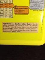 1,4KG Bouillon Volaille 70L Maggi - Ingrédients