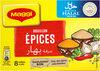 MAGGI Bouillon aux Epices Halal 8 tablettes - Produit