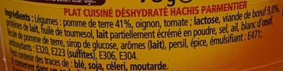 Hachis Parmentier - Bolino - Ingrediënten - fr