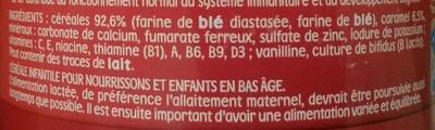 P'tite Céréale Caramel - Ingrédients - fr
