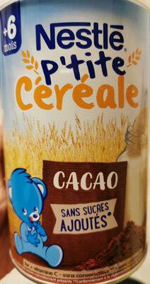 P'tite céréale cacao - Produto - fr