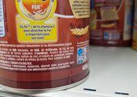 P'tite céréale cacao - Ingredientes - fr