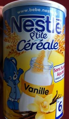 P'tite Céréales vanille - Produit