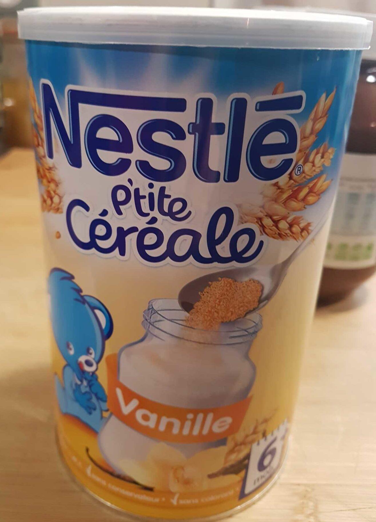 P'tite Céréales vanille - Product - fr
