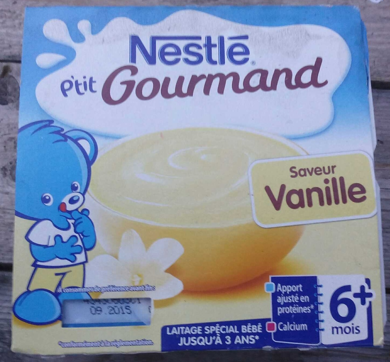 P'tit Gourmand saveur Vanille - Prodotto - fr