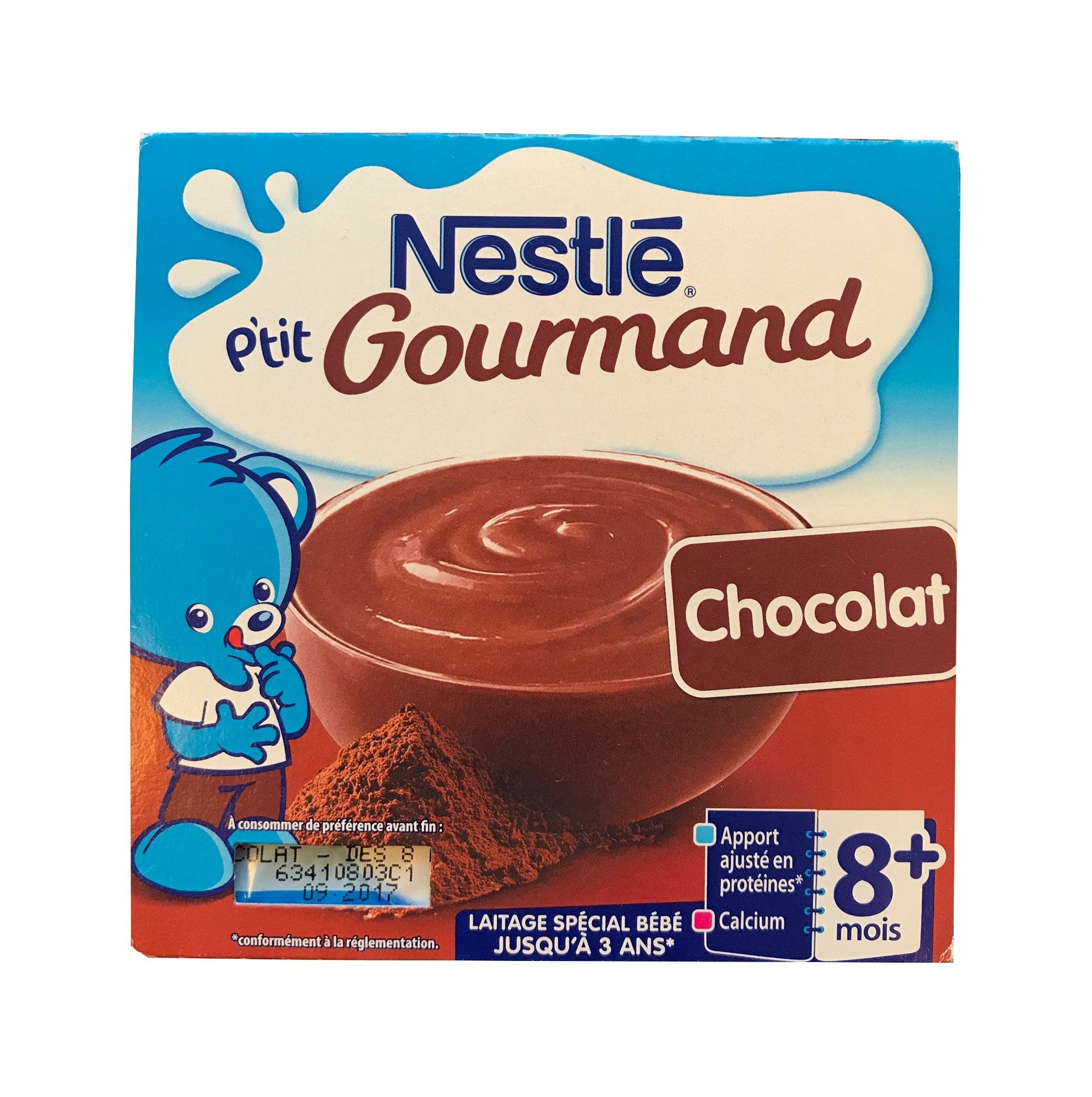 Nestle P'tit. Gourmand chocolat - Product - fr