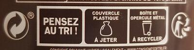Le Chocolat - Instruction de recyclage et/ou information d'emballage - fr