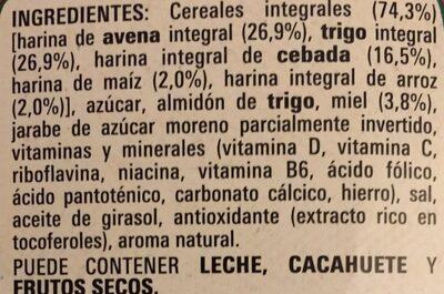 Cereales Cheerios - Ingredients - es