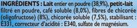 RICORE au Lait - Ingredients - fr