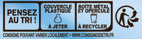 RICORE au Lait - Recycling instructions and/or packaging information - fr