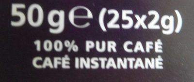 Nescafé NES - Ingrédients - fr