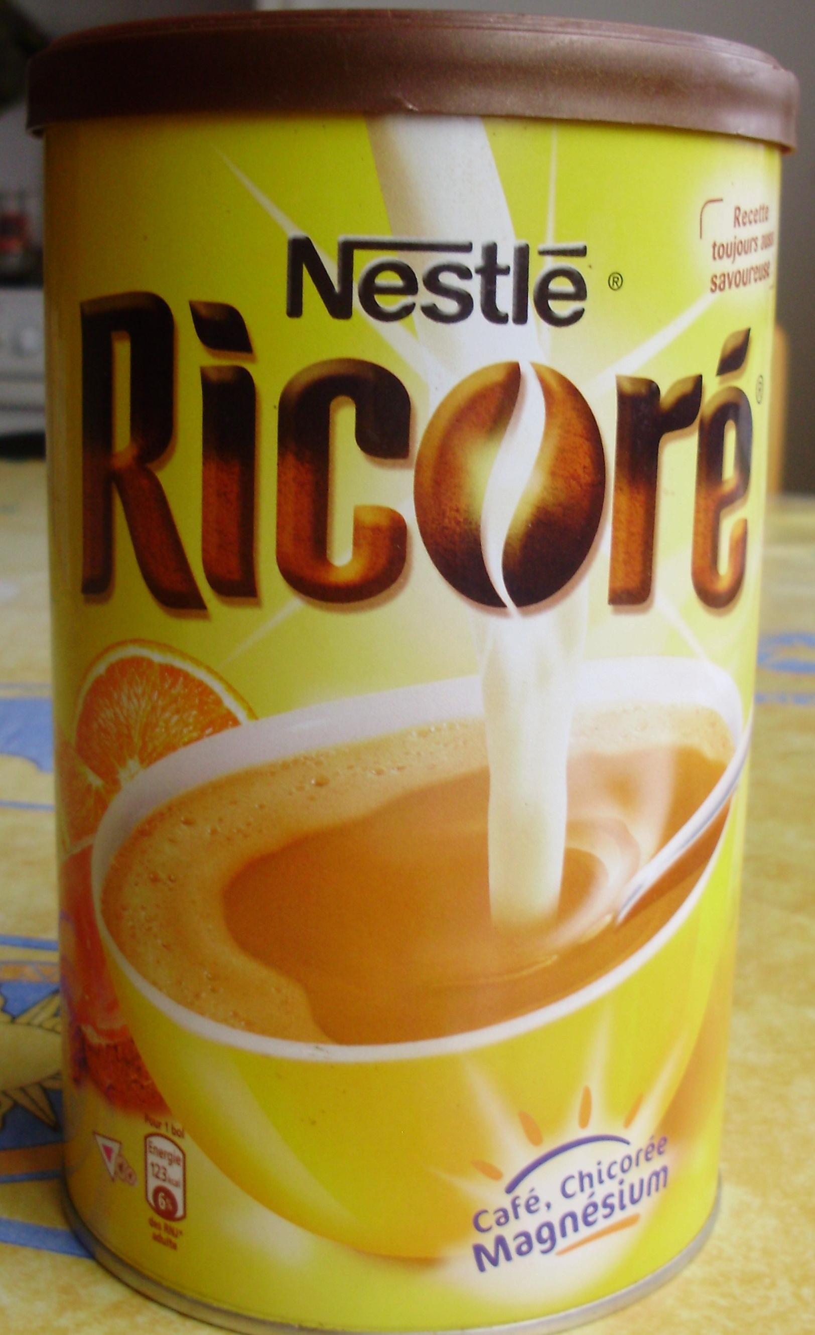 Ricoré Café Chicorée Magnésium Nestlé 250 G
