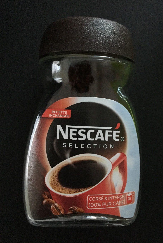 NESCAFE Sélection, Café Soluble, Flacon de - Voedingswaarden - fr