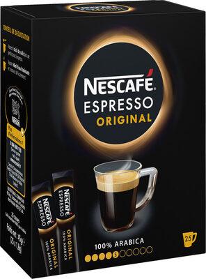 NESCAFE Espresso, Café Soluble, Boîte de 25 Sticks (1,8g chacun) - Prodotto - fr