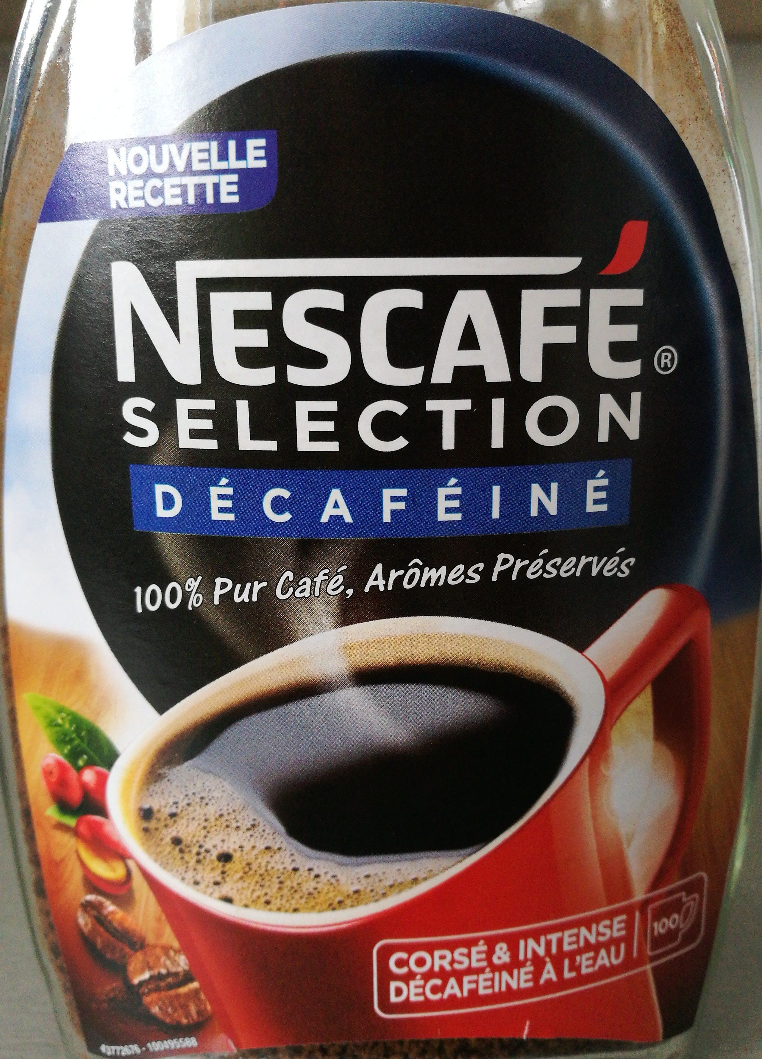 Nescafe Selection Décaféiné et corsé - Ingrédients - fr