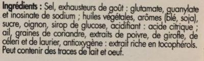 Kub Or - Ingredients