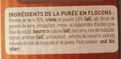 Purée Mousline Saveur à l'ancienne (creme et noix de muscade) - Ingrediënten - fr
