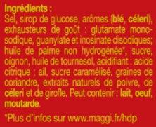 KUB ® Or - Ingrédients