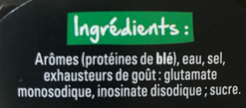 Arôme - Ingredienti - fr