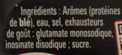 Arome - Ingrédients - fr