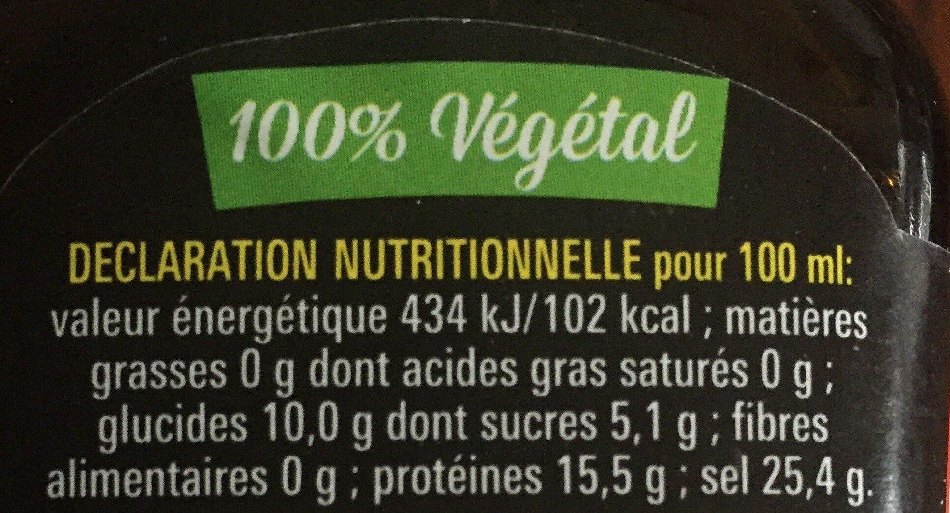 Arome MAGGI - Nutrition facts - en
