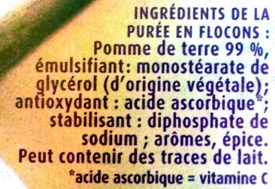 Mousline - Ingredients - fr