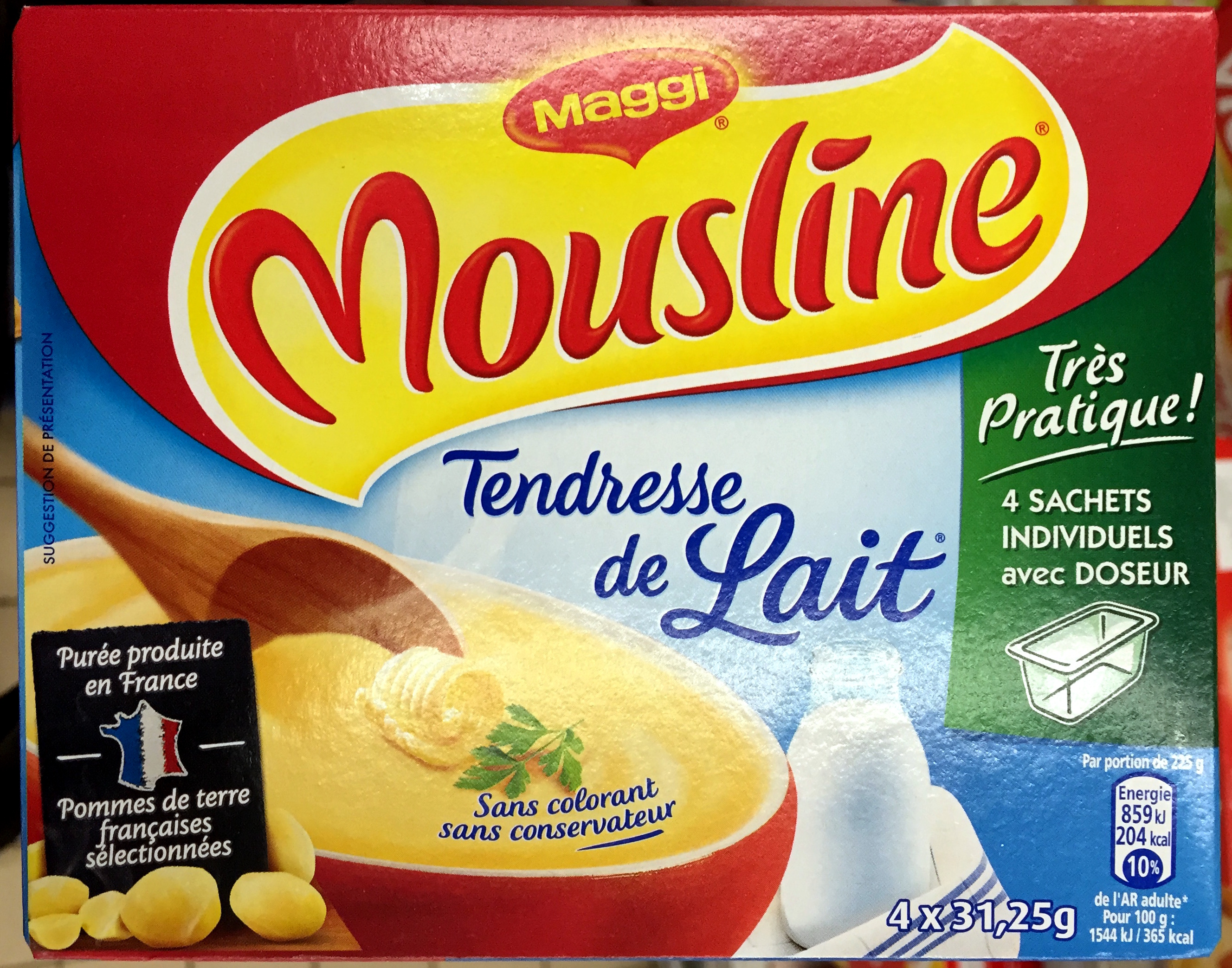 Mousline Tendresse de Lait - Product - fr