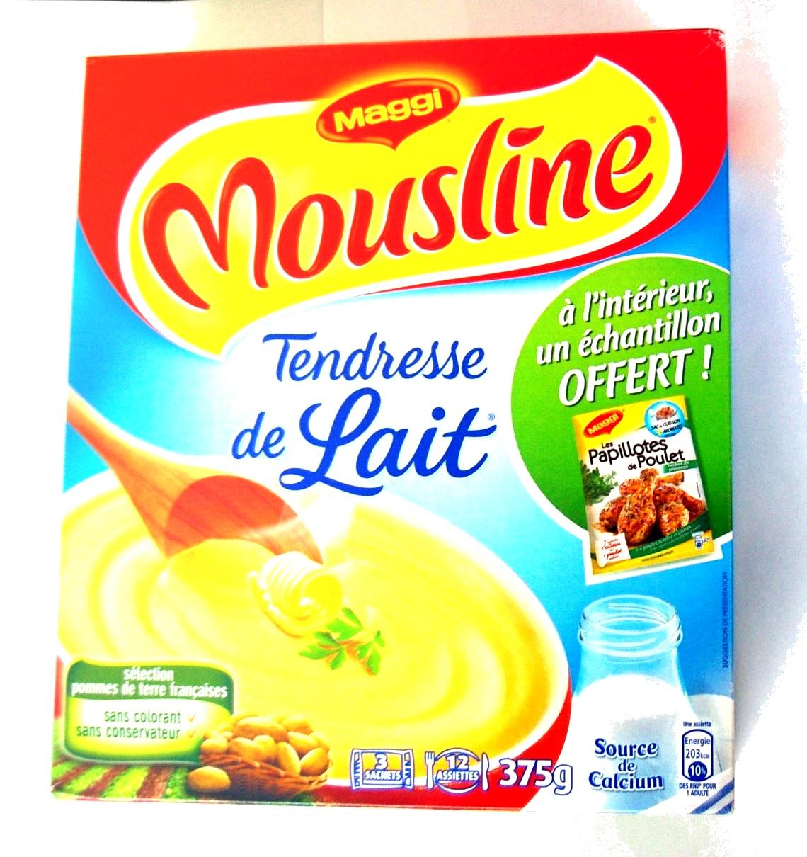 Puree Mousseline Sans Lait