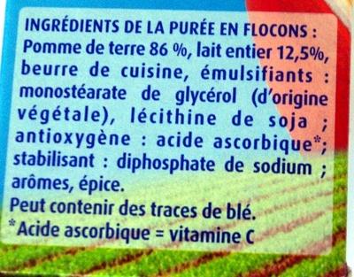 Tendresse de Lait - Ingredients