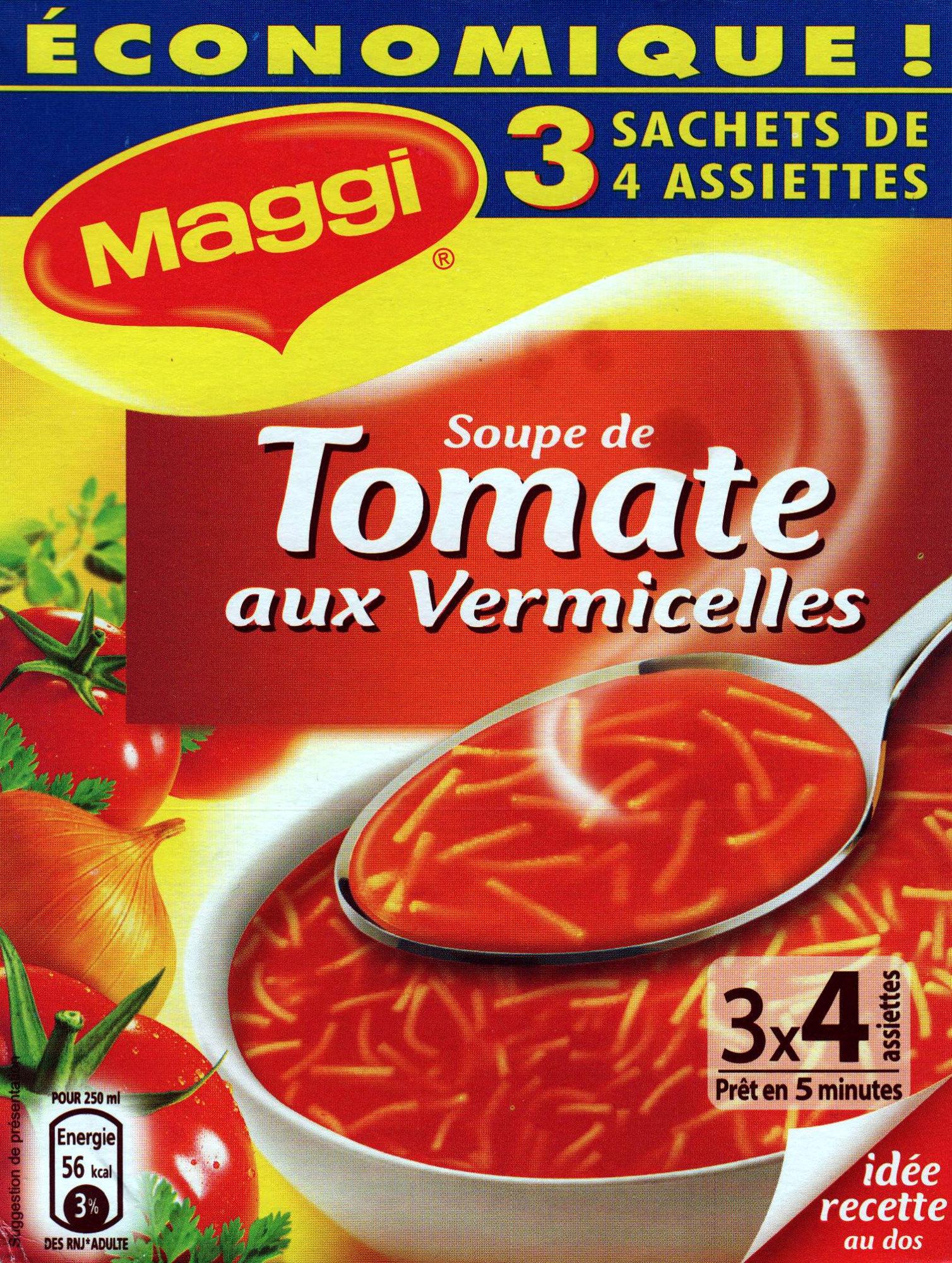 Maggi soupe de tomate aux vermicelles - Product - fr