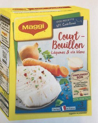 Court-Bouillon légumes & vin blanc - Produit - fr